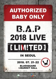 B.A.P単独コンサート「LIMITED」IN SEOUL
