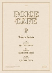 CNBLUE( ジョンシン) SPECIAL ファンミーティング BOICE CAFE「LJS CAFE」