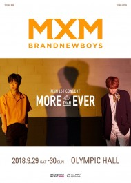 MXM単独コンサート「More than ever」
